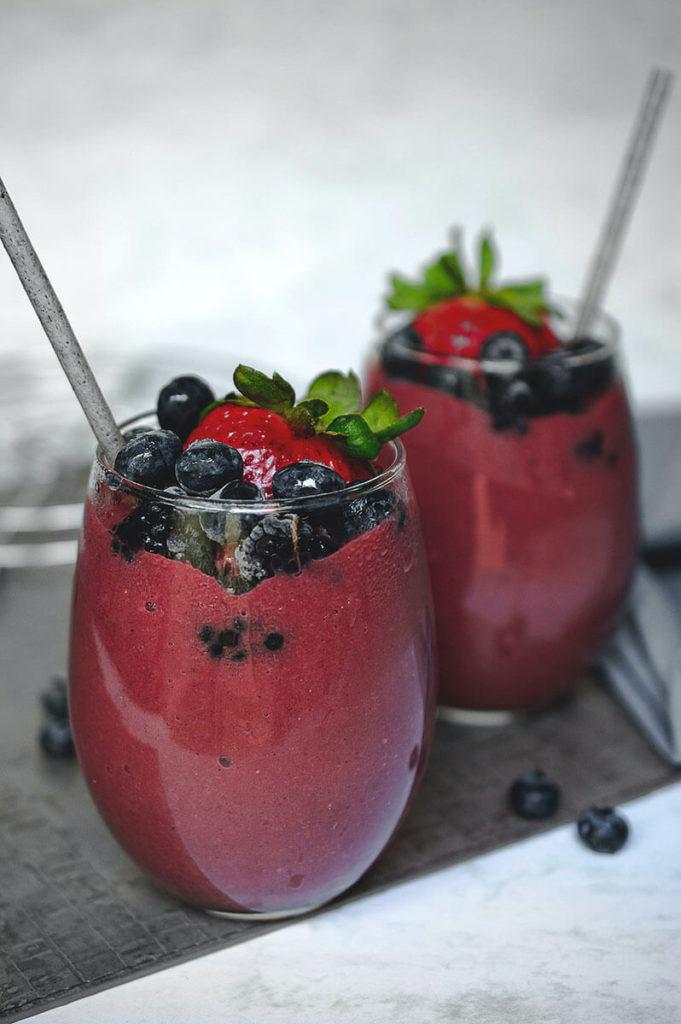 koktajl z jagodowy