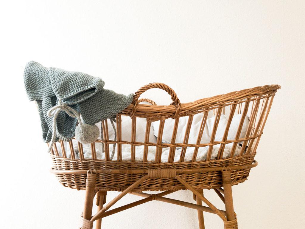 koszyk dla noworodka