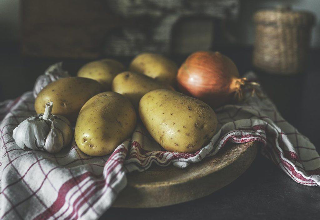 ziemniaki i cebula