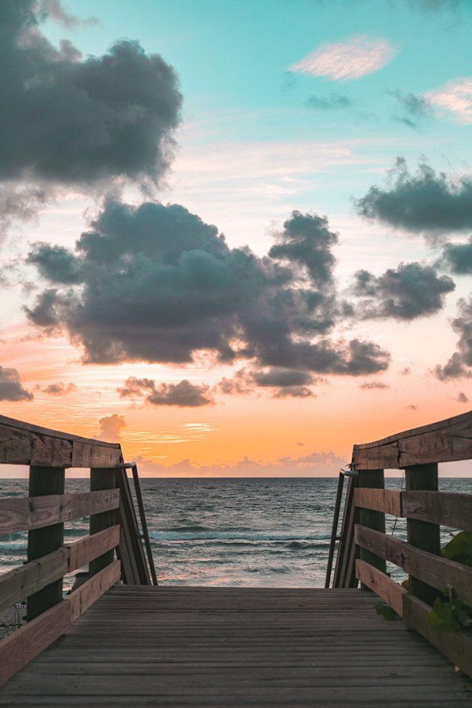 kladka nad morzem